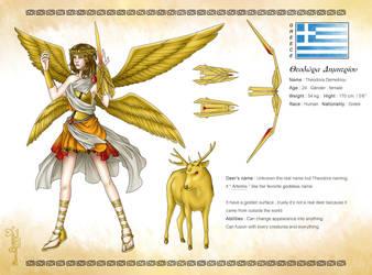 Theodora original character by Flanalia