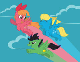 Powerpuff Ponies by Inspectornills