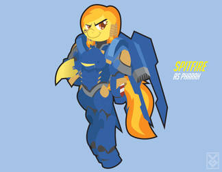 Spitfire as Pharah by Inspectornills