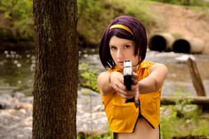 Faye Valentine (old costume) VI by Molza