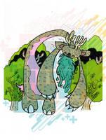 Pukey Elk by Jawa-Tron