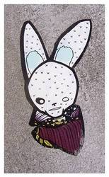 Fashion Gangsta Bunny by Jawa-Tron