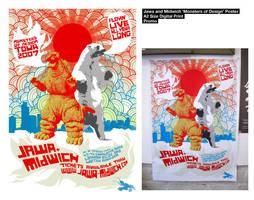 Jawa Midwich Monster Poster by Jawa-Tron
