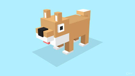 Isometric Dog (Type 2) by DastronTM