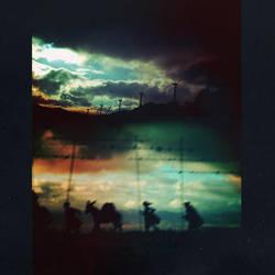 la huida de Don Quijote. by mute-nOface