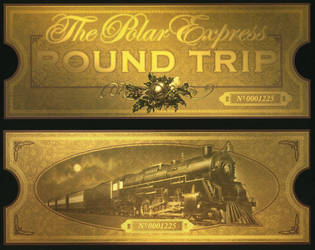 The Polar Express Ticket by TNO-794