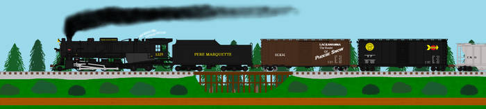 Northbound Freight by TNO-794