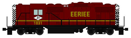 Lionel Eeriee Railroad GP9 by TNO-794
