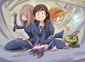 Little Witch Academia by simonori