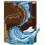 Koi Trophy: DarkRider Custom 1 by MythsAndDreams