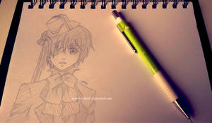 Ciel Sketch by Tiha90