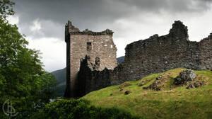 Urquhart Castle by aka-breadbin