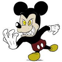 Evil Mickey by torquesmacky