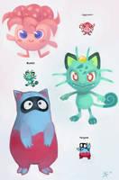 Pokemon Fusions! by zac900