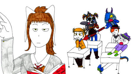 School Roast by JustaRandomGourgeist
