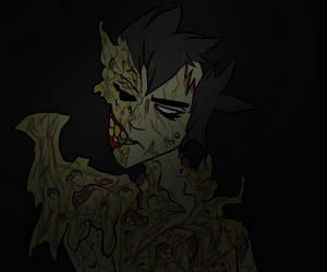 Drawtober ~ Gross by HauntedLantern