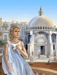 Priestess of Atlantis by Volcannah
