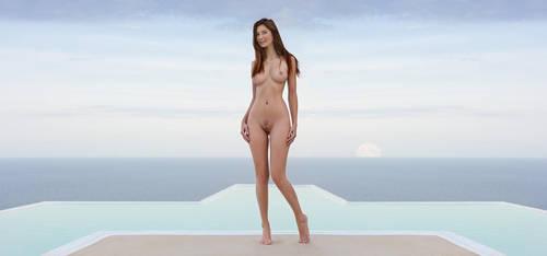 Ibiza Moonset by fotodesign1