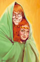 Arthur Weasley and Molly Prewett by Peregrinus5Floh