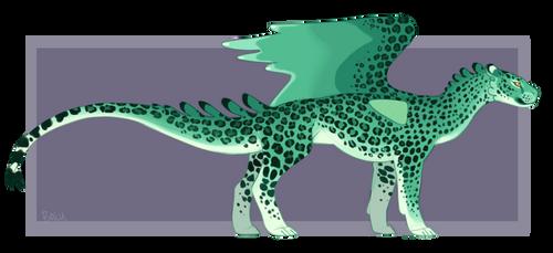 Leopard Green by balustriad