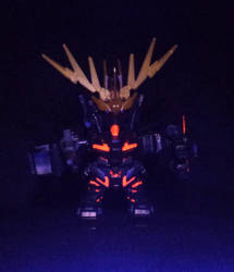 Unicorn Cercerus Chibi - Psycoframe Glowing by LordCastigator