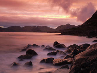 Another colourful evening at Lofoten by Mycelius