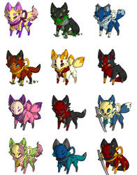 Adoptables (CLOSED) by LoneWolfAlpe