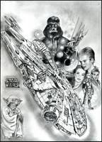 Star Wars by uhmealya