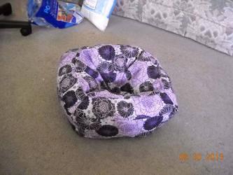 Cat Bed by vampirecheetah