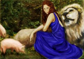 Circe: Awaiting Odysseus by LibertineM