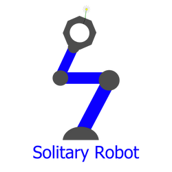 Solitary Robot by Zombifaction
