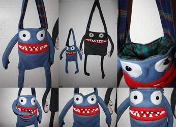 Mini Monster Totes by htavos
