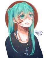 Hatsune Miku by Amainoame