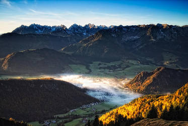 Alpine morning 2013 IV by mutrus