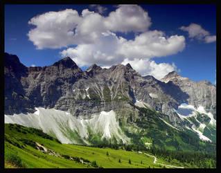The Alps PARADISE 5 Colour by mutrus