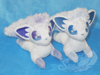 New Vulpix Shots (shiny) by FeatherStitched