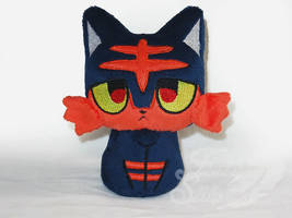 Moon Kitty Beanie- Litten by FeatherStitched