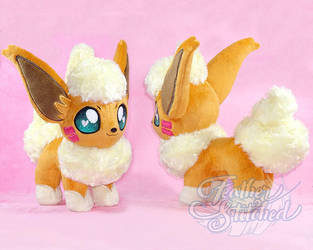 Flareon OC Plush by FeatherStitched