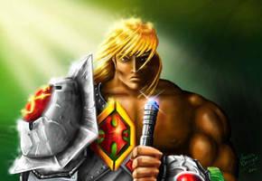 Snake-Armour He-Man by oICEMANo