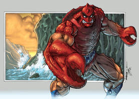 Kevin Sharp's Clawful coloured by oICEMANo