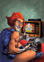 CerealGeek -  Lion-O VHS by oICEMANo