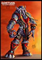 GORTUSK- Evil Horde Berserker by oICEMANo