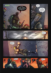 The Corps! comic page 2 by oICEMANo