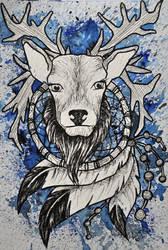 Oh Dear Deer Of Dreams by psychotoxicc