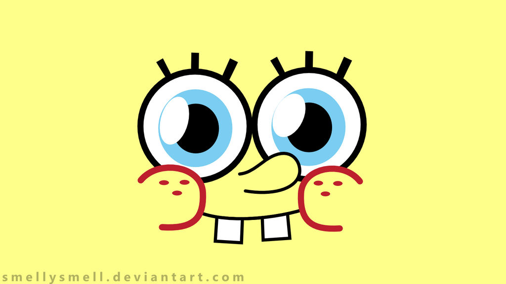 Spongebob Face Wallpaper By Smellysmell On Deviantart