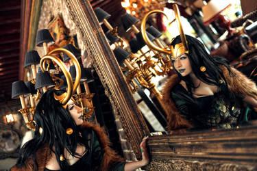Female Loki by souji-yarou