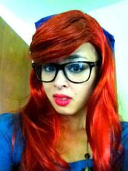Hipster Ariel by TheShiningPolaris