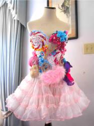 Katy Perry California Gurls Candyland Costume by TheShiningPolaris