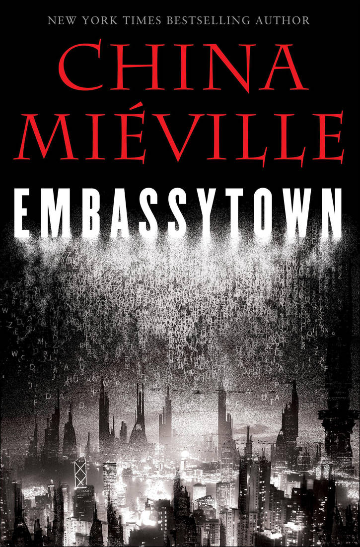 Book Cover for China Mieville by rich35211