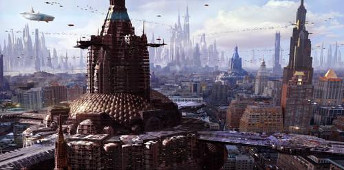 2130 Future City by Scott Richard by rich35211